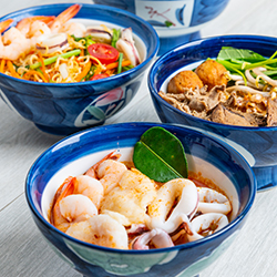 Thai Boat Noodles, Tom Yum Noodles and Thai Beef Noodles Singapore